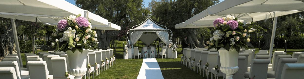 matrimonio nel parco
