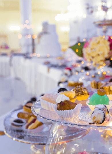 allestimento banchetto dolci matrimonio